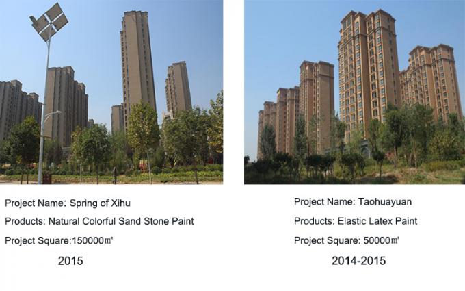Liquid granite stone paint factory directly for exterior wall decoration